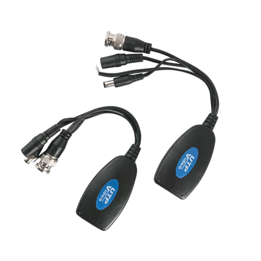 Video balun UTP101PVD alimentare/ date pasiv, cablu UTP, 300m, >60db, pret/pereche imagine spy-shop.ro 2021