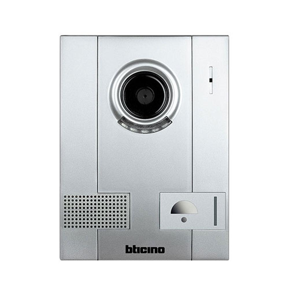 Videointerfon de exterior Bticino 322020, 1 familie, aparent, 4 fire