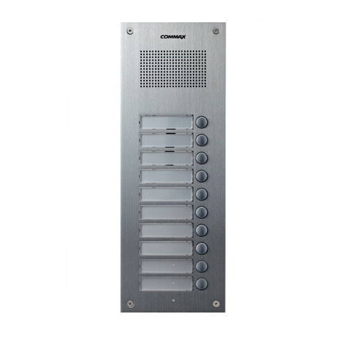 Interfon de exterior Commax DR-10UM, ingropat, 12 V, 10 familii imagine spy-shop.ro 2021