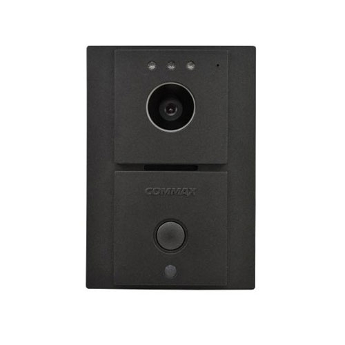 Videointerfon de exterior Commax DRC-4L, 1 familii, aparent imagine spy-shop.ro 2021