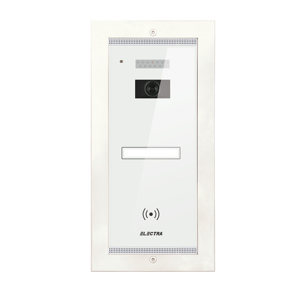 Videointerfon de exterior Electra Smart VPM.1FR02.ELW04, 1 familie, ingropat, 4 fire