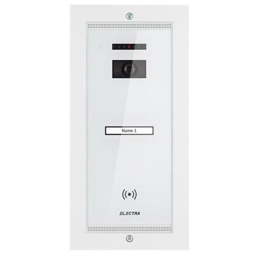 Videointerfon de exterior Electra Smart VPM.1SR02.ELW04, 1 familie, aparent, 4 fire
