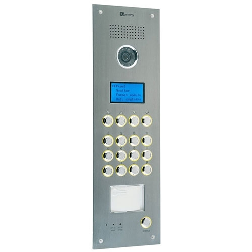 Videointerfon de exterior Genway 2608D-C, aparent, 1/3 inch, bloc imagine spy-shop.ro 2021