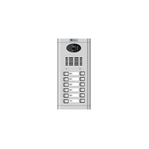 Videointerfon de exterior Genway CM-02NE-C 2*6, 12 familii, ingropat, vila