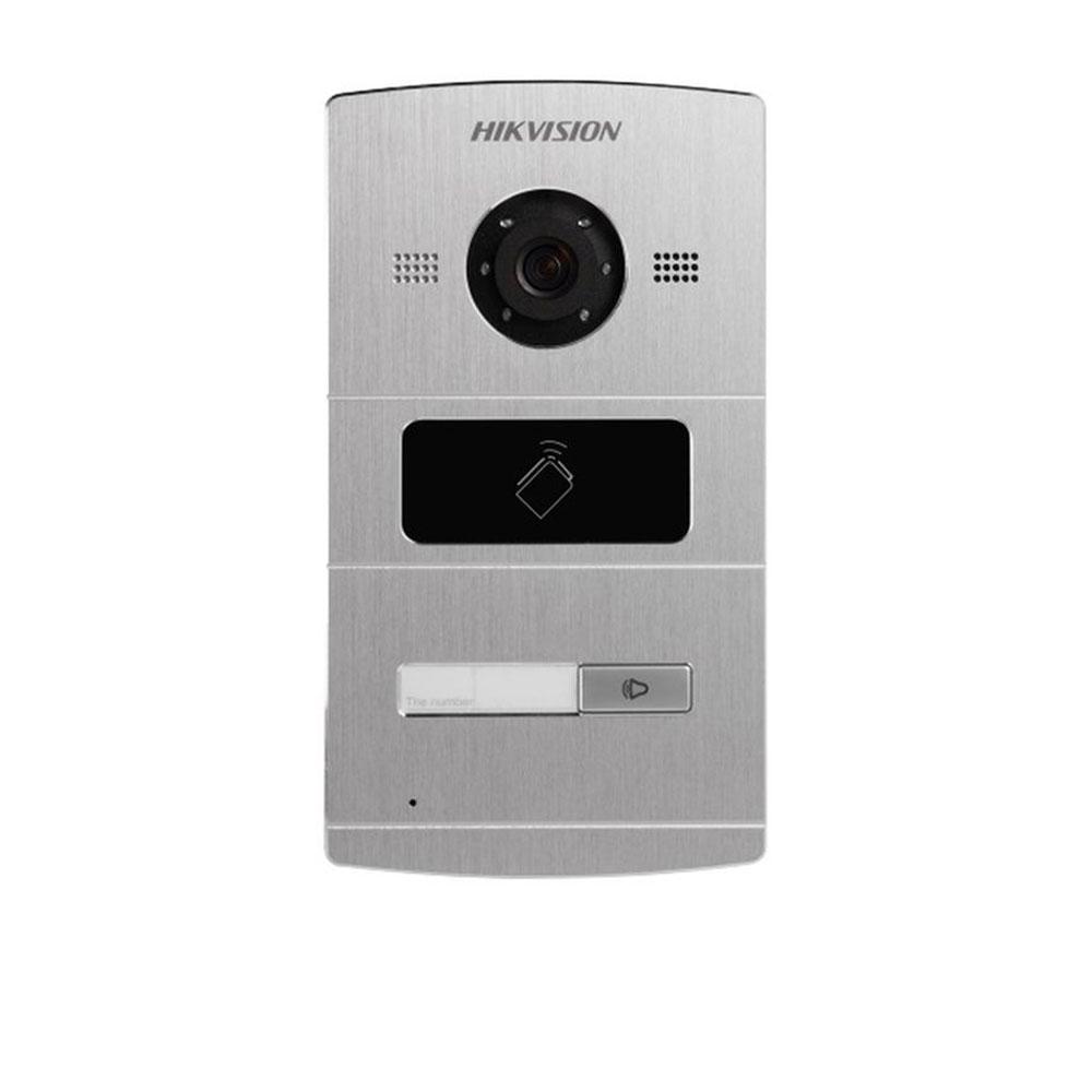 Videointerfon De Exterior Ip Hikvision Ds-kv8102-im, 1 Familie, Ingropat, 1.3 Mp