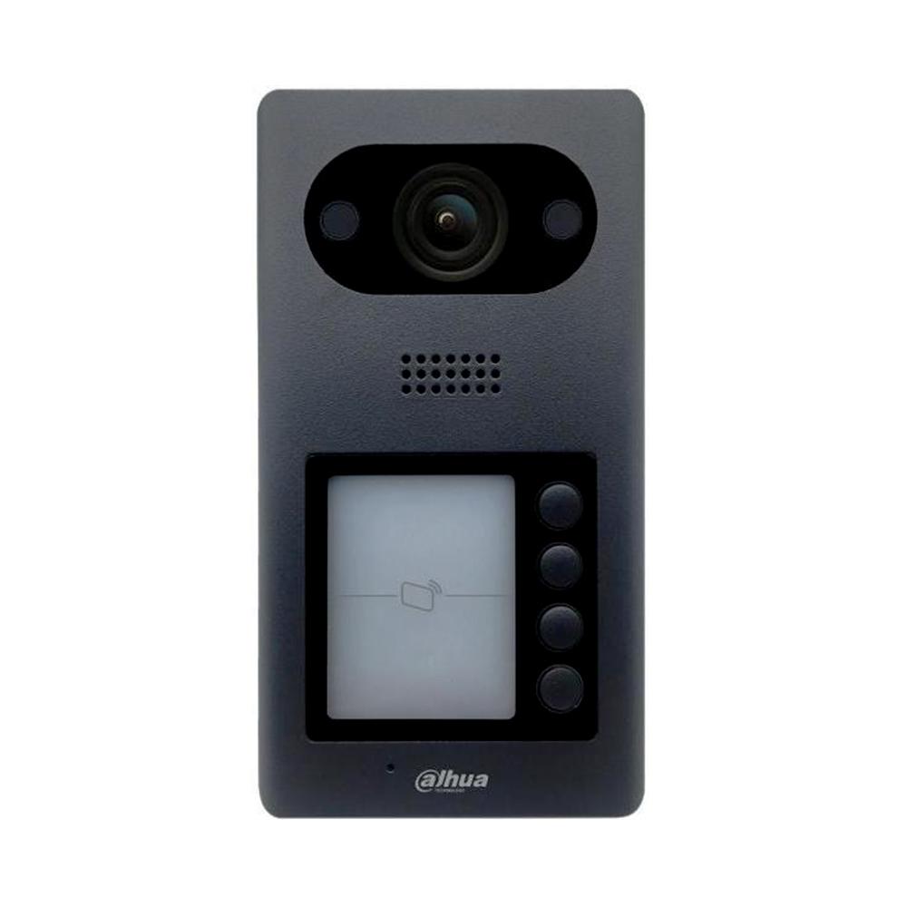 Videointerfon de exterior IP Dahua VTO3211D-P4-S2, 2 MP, 4 familii, aparent