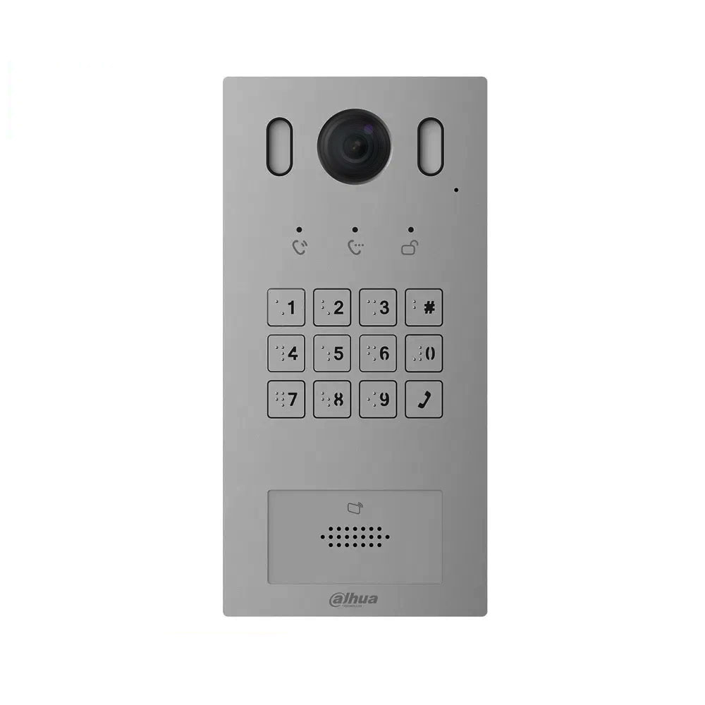 Videointerfon de exterior IP Dahua VTO3221E-P, 2 MP, Mifare, aparent/ingropat, 1 familie imagine spy-shop.ro 2021