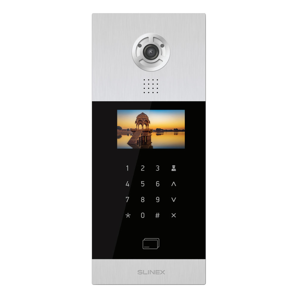 Videointerfon de exterior IP Slinex SHAN, 1 MP, 1/3 inch, ingropat imagine spy-shop.ro 2021