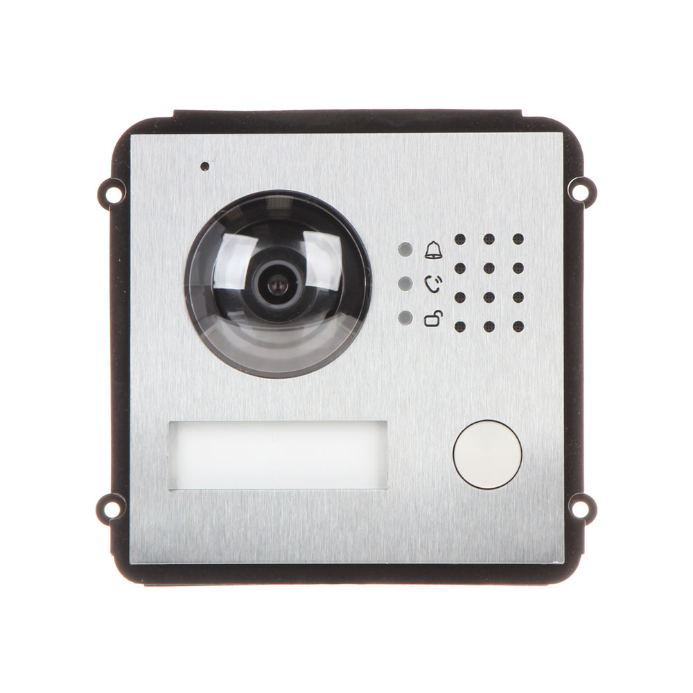 Videointerfon modular de exterior IP Dahua VTO2000A-C-2, 2 MP, aparent/ingropat, 1 familie imagine spy-shop.ro 2021