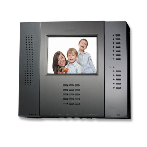 Videointerfon de interior Commax CAV-501D, 5 inch, 4 fire, 100-240 V imagine spy-shop.ro 2021