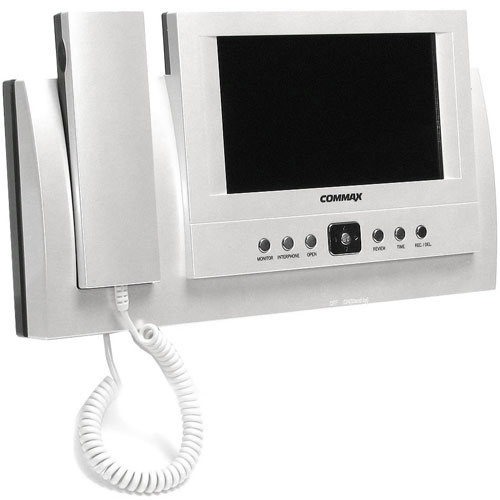 Videointerfon de interior Commax CAV-72B, 7 inch, 128 imagini, aparent imagine spy-shop.ro 2021