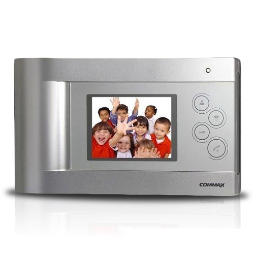 Videointerfon de interior Commax CDV-43Q, 4.3 inch, 4 fire, aparent imagine spy-shop.ro 2021