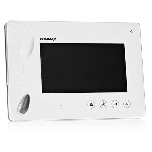 Videointerfon de interior Commax CDV-70P, 7 inch, 4 fire, aparent imagine spy-shop.ro 2021