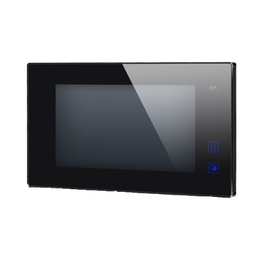 Videointerfon de interior DT47MG-TD7-BK, aparent, touchscreen, 7 inch imagine spy-shop.ro 2021