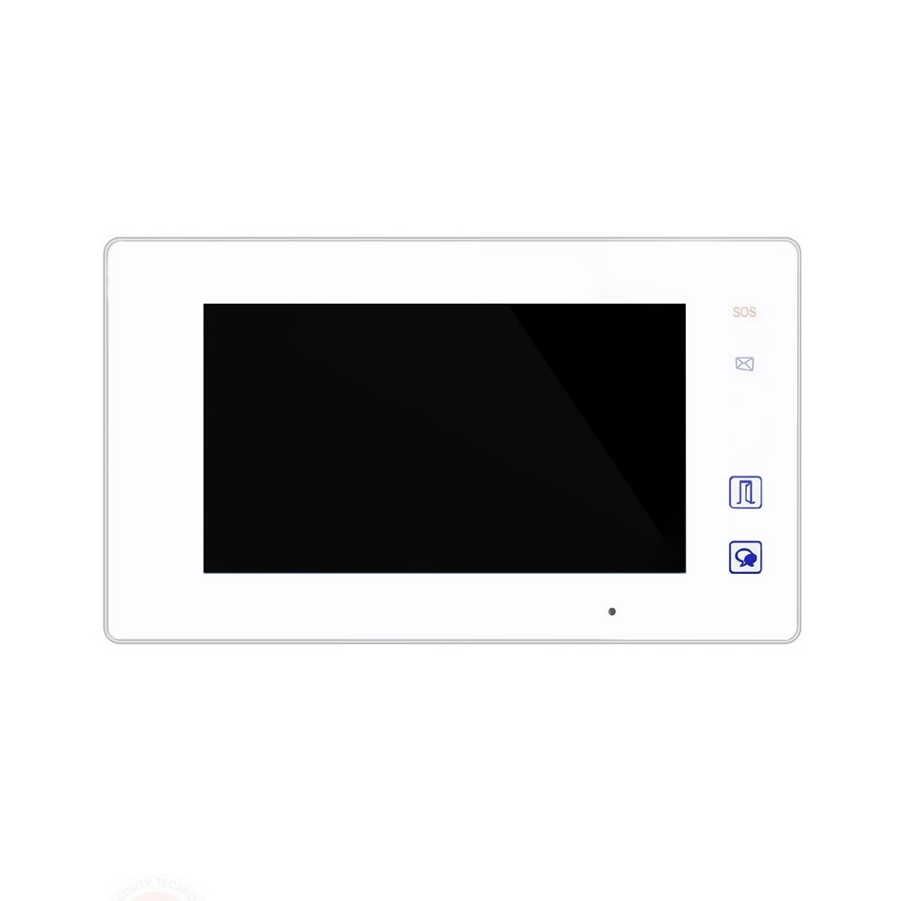 Videointerfon de interior DVC DT47MG, 7 inch, aparent, touchscreen imagine spy-shop.ro 2021