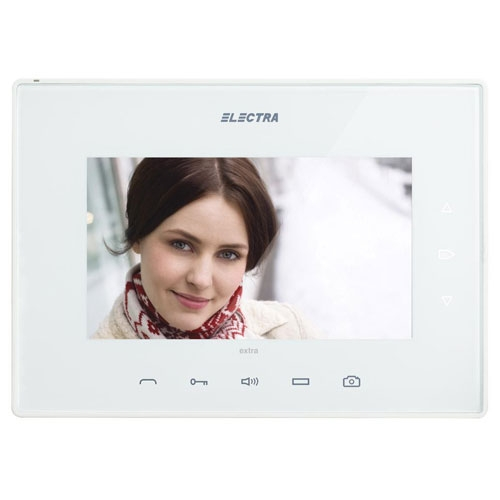 Videointerfon de interior Electra Extra VTE.7S902.ELW04, aparent, 7 inch, 4 fire imagine spy-shop.ro 2021