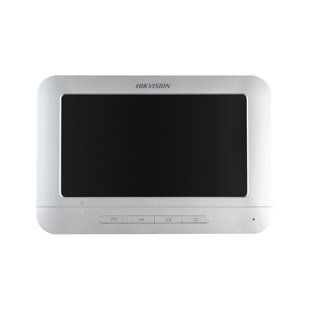 Videointerfon de interior Hikvision DS-KH2220-S, 7 inch, 4 fire, aparent