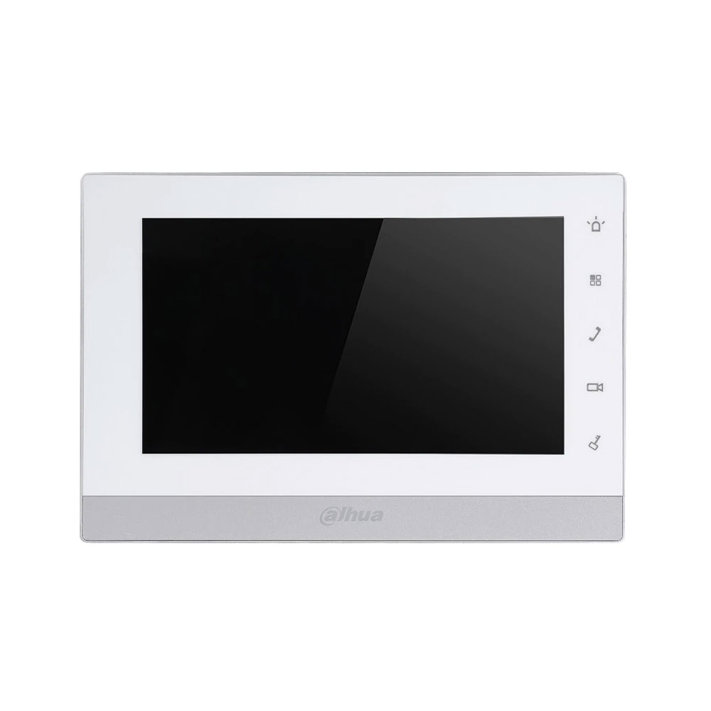 Videointerfon de interior IP Dahua VTH1550CH-S2, 7 inch, aparent, DC 12V imagine spy-shop.ro 2021