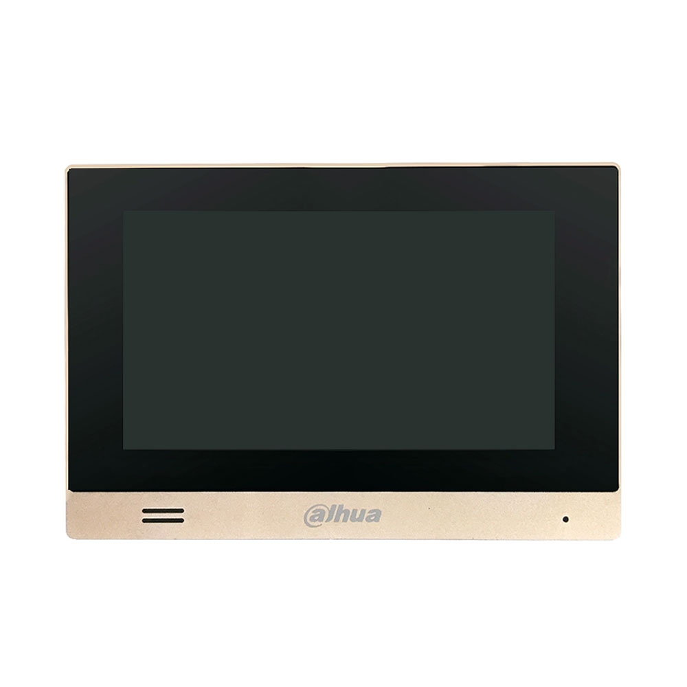 Videointerfon de interior IP Dahua VTH1550CHM, 7 inch, ingropat, DC 12V
