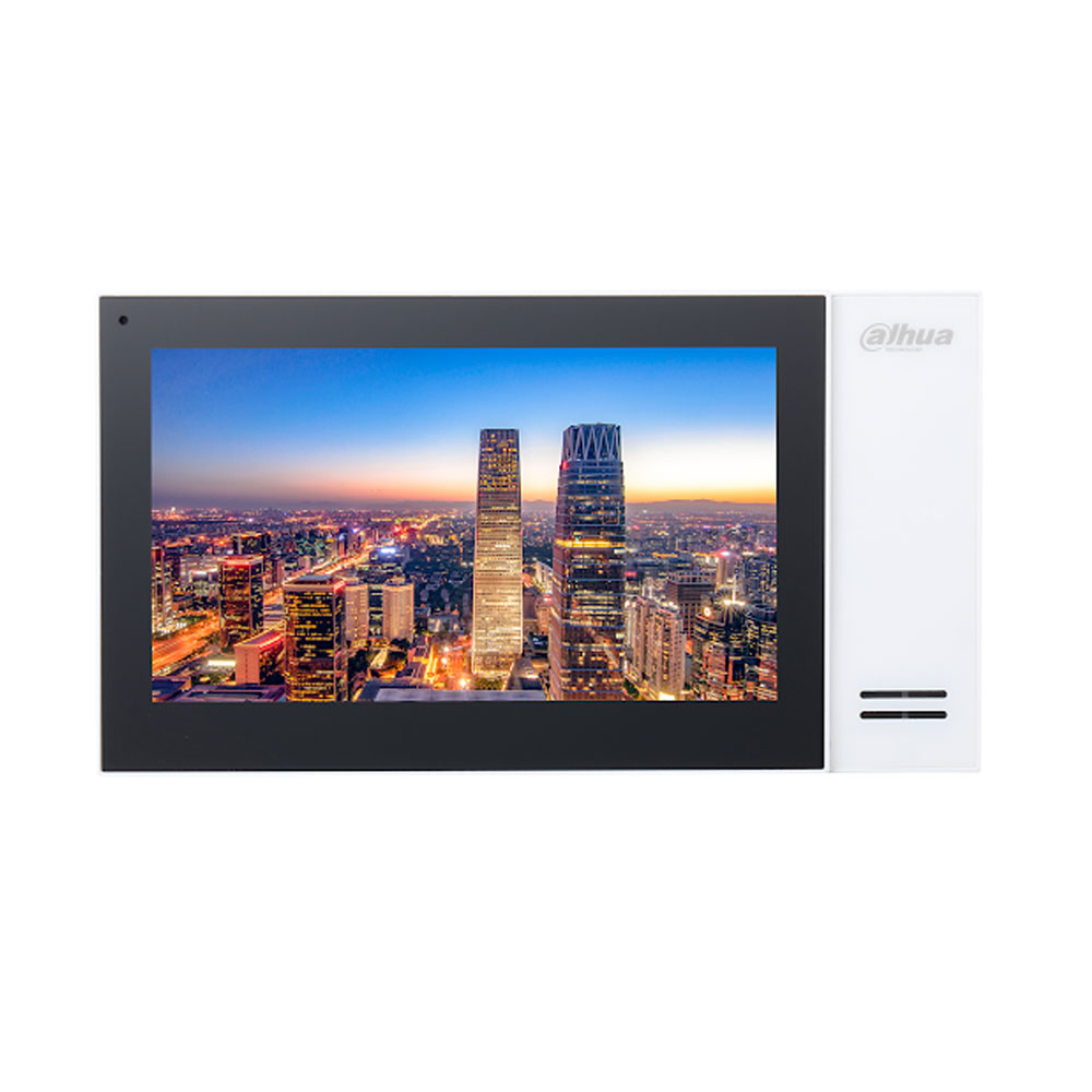 Videointerfon de interior IP Dahua VTH2421FW, 7 inch, aparent, 12 V imagine spy-shop.ro 2021