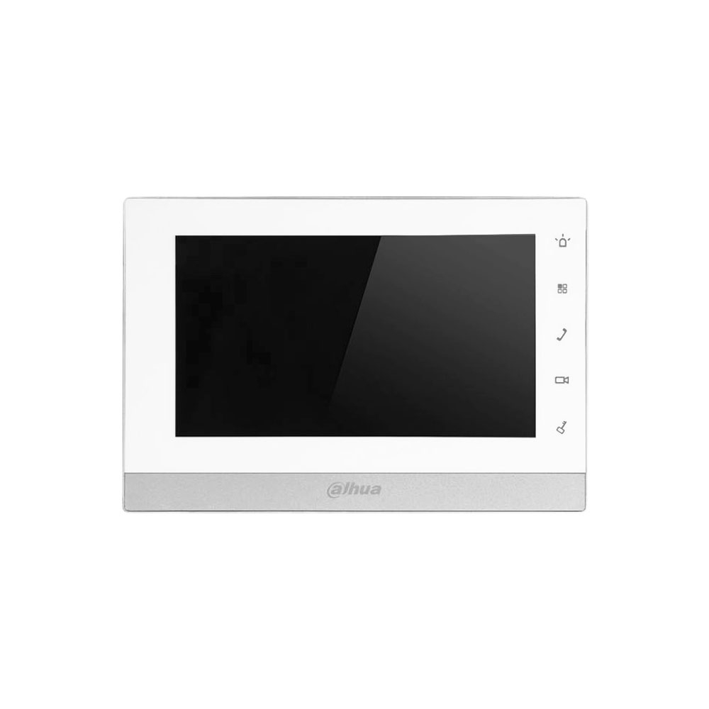 Videointerfon de interior IP Dahua VTH5222CH-S1, 7 inch, aparent, touch screen, slot card imagine spy-shop.ro 2021