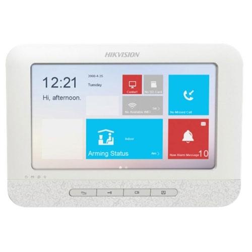 Videointerfon de interior IP Hikvision DS-KH6310-WL, aparent, 7 inch, touchscreen
