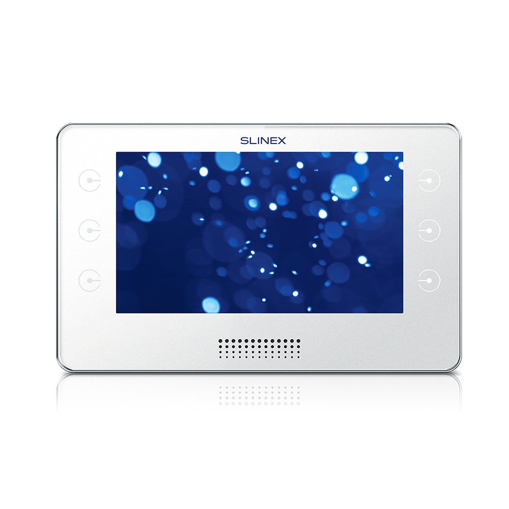 Videointerfon de interior IP Slinex KIARA-W, 7 inch, 30 poze/mesaje vocale, aparent imagine spy-shop.ro 2021