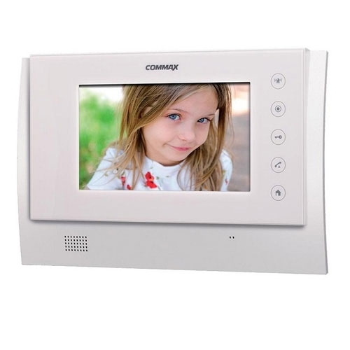 Videointerfon de interior Wireless Commax CDV-70UX, 7 inch, aparent, 4 fire imagine spy-shop.ro 2021