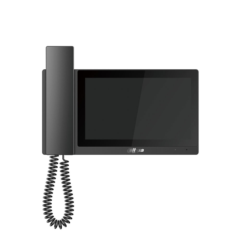 Videointerfon de intrior IP Dahua VTH5221E-H, 7 inch, aparent, DC 12V/PoE imagine spy-shop.ro 2021