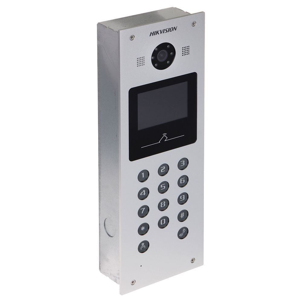 Videointerfon Hikvision DS-KD3002-VM, ingropat, 3.5 inch
