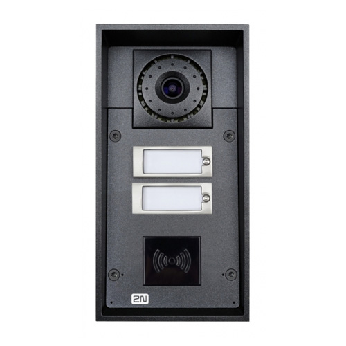 Videointerfon de exterior VOIP FORCE (9151102CRW), VGA, PoE, ingropat imagine spy-shop.ro 2021