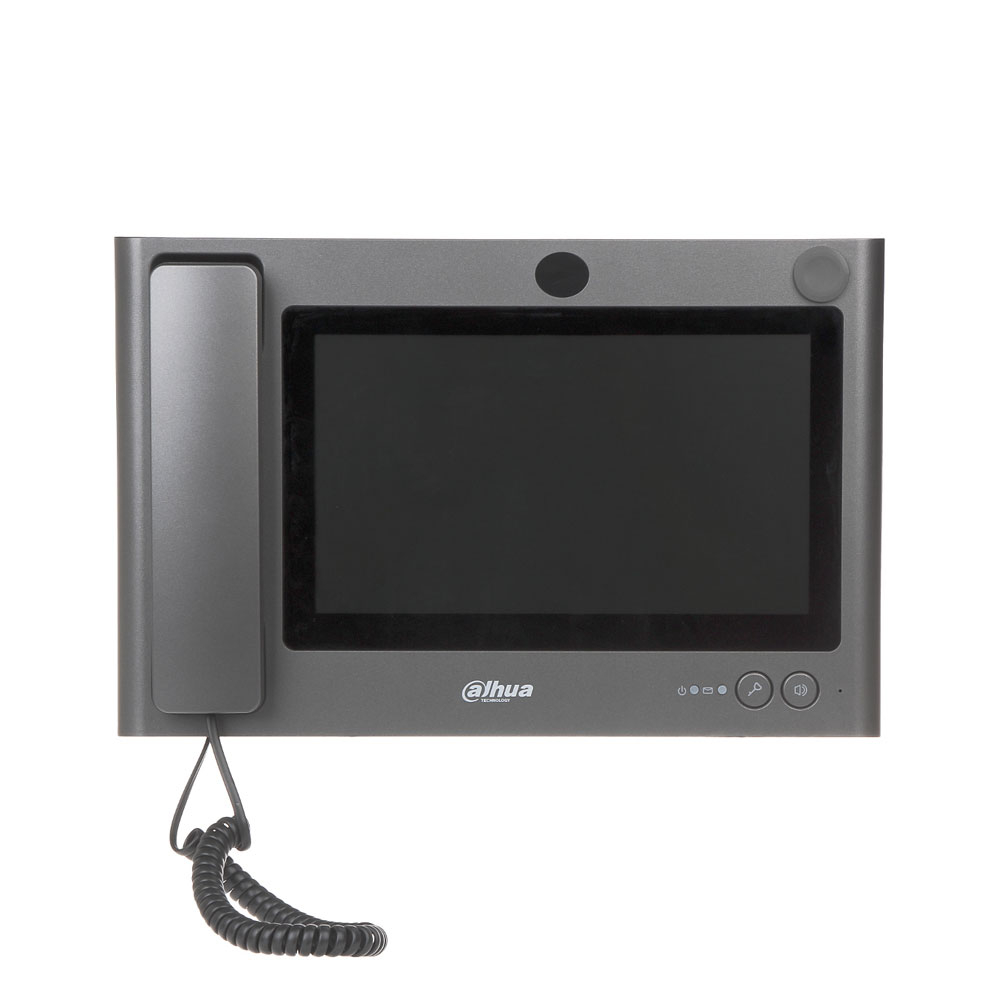 Videointerfon de interior IP Dahua VTS5240B, 10 inch, aparent, DC 12V imagine spy-shop.ro 2021