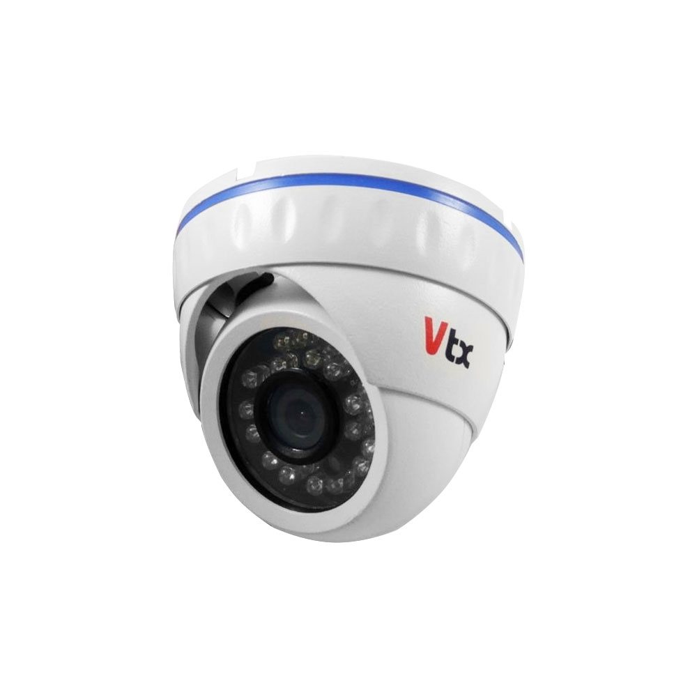 Camera supraveghere Dome VTX 1221DIR, 1 MP, IR 20 m, 3.6 mm