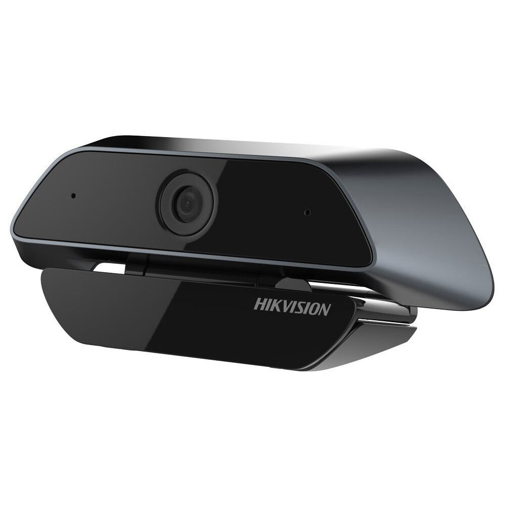Webcam Full HD Hikvision DS-U12, 2 MP, 3.6 mm, plug and play, USB, microfon imagine spy-shop.ro 2021