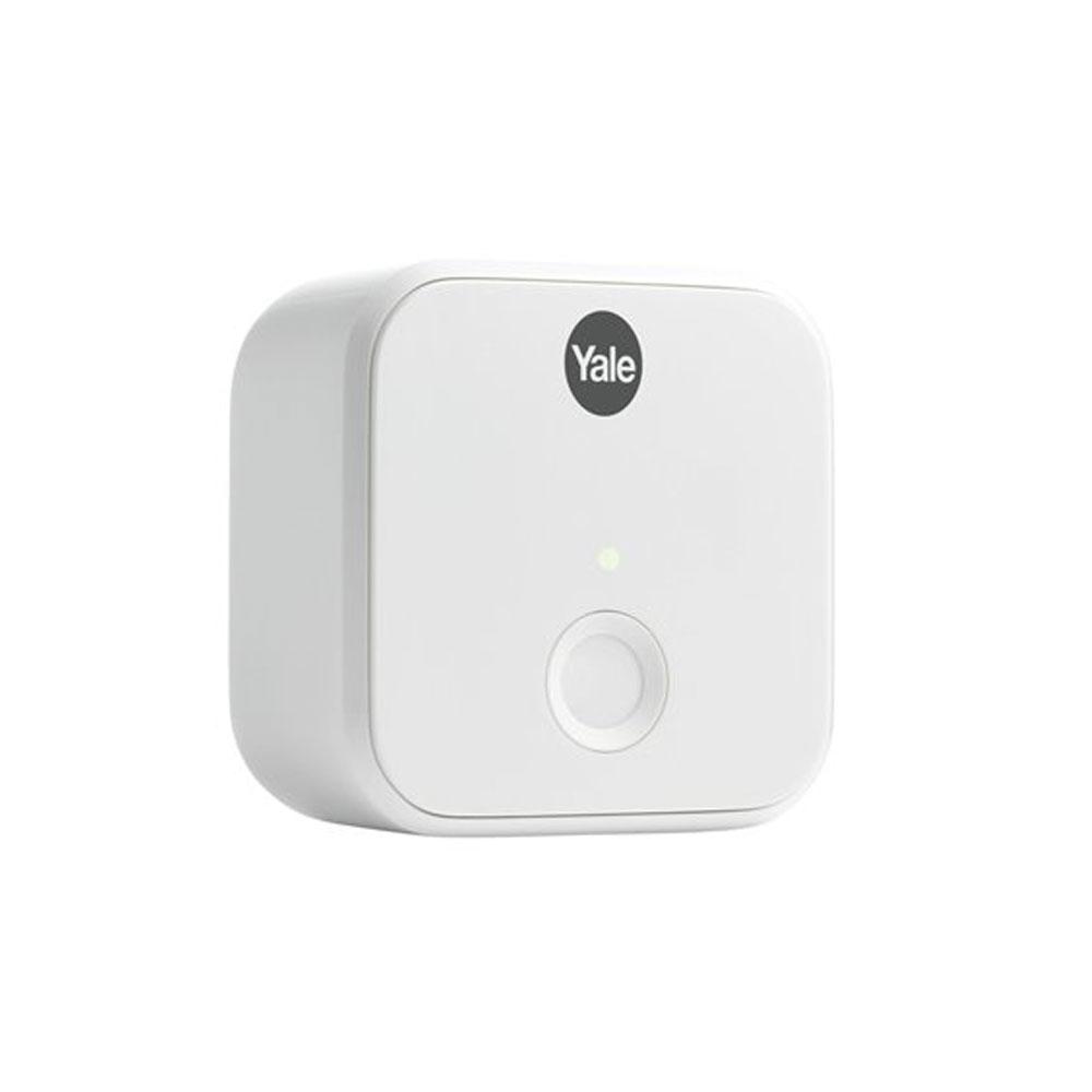 Yale Connect WiFi Bridge pentru incuietoare inteligenta Linus 05/401C00/WH, bluetooth 4.0, WiFi 2.4 GHz 802.11 (b/g/n) imagine spy-shop.ro 2021