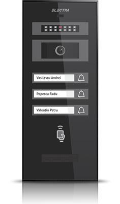 Videointerfon de exterior Electra Smart VPM.3S0.ROB